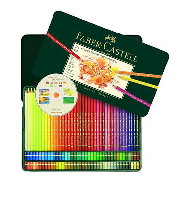 Used, Faber Castell Polychromos 120 Pencil Metal Tin Set for sale  Shipping to Canada