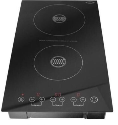 stellar portable dual zone double induction hob 3100w ebay. Black Bedroom Furniture Sets. Home Design Ideas