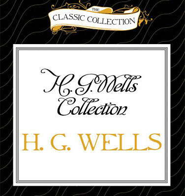 MP3 CD Audiobook H. G. Wells Collection - Island Dr Moreau - Crystal Egg - Blind