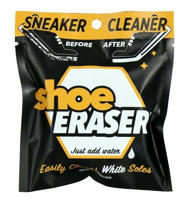 SHOE ERASER White Sole Sneaker Cleaner 3 Pack Clean Your Kicks FREE SHIPPING