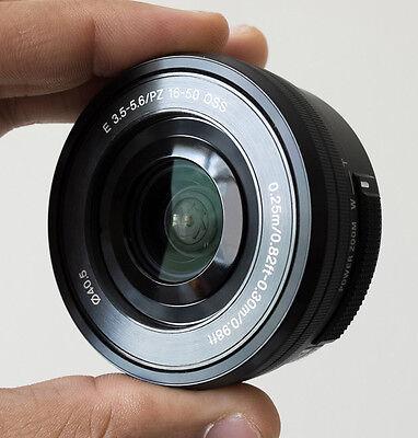 Sony nero SELP1650 16-50mm F/3,5-5,6 PZ OSS lente per E-Mount della fotocamera, usado segunda mano  Embacar hacia Mexico