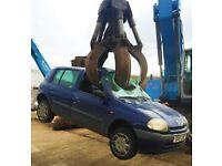 Scrap car wan*ed 07709 943916