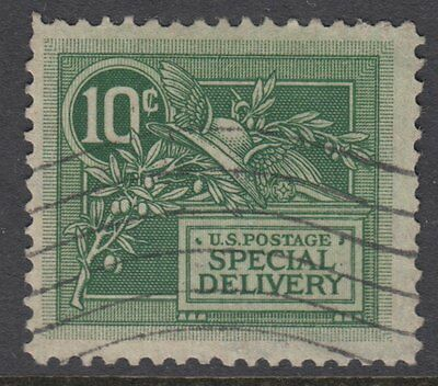 UNITED STATES OF AMERICA:1908 SPECIAL DELIVERY 10c green Scott #E7 used