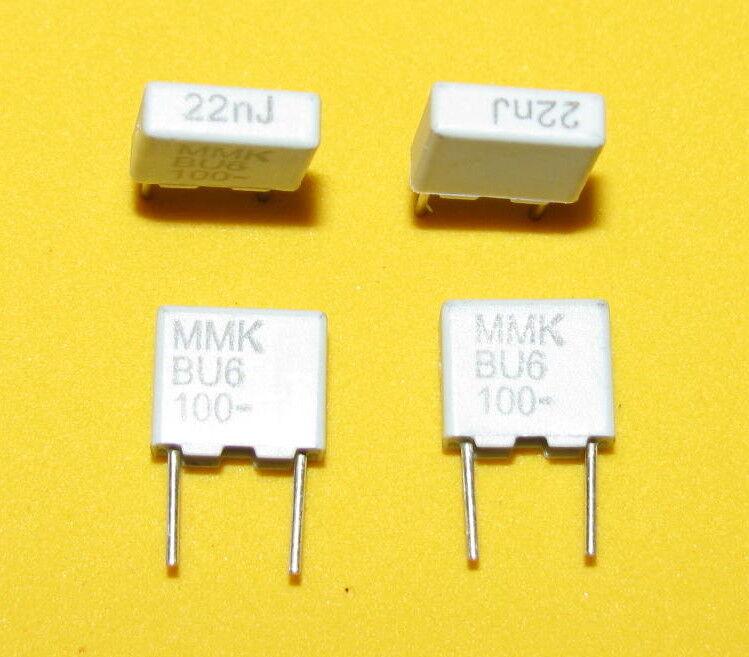50 EVOX RIFA MMK5 .022uF 0.022uF 5% 100V volt polyester capacitors