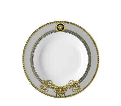 "VERSACE RIM SOUP PLATE PRESTIGE GALA 8.5"" NEW IN BOX SALE"