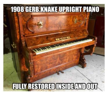 Fully Restored European & American Pianos Norwood Norwood Area Preview