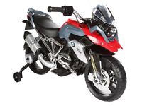 BMW kids electric ride on motor bike (battery operated)