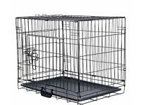 Double door pet cage - small dog