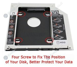 "2.5"" 2nd HDD/SSD SATA Caddy Tray for Apple MacBook Pro Bayswater North Maroondah Area Preview"