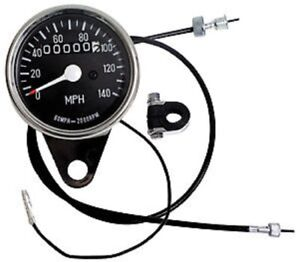 MINI SPEEDOMETER + CABLE 2:1 RATIO HARLEY SPORTSTER IRONHEAD XL XLH 900 1000