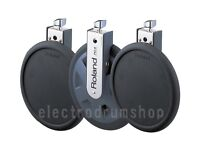 3x Roland V Drums PD-8 dual zone trigger pads UPGRADE electronic set tom percussion