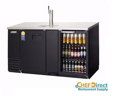 Everest Ebd3-bbg Two Section Back Bardirect Draw Keg Refrigerator