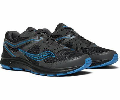 Saucony Blue Shoes - Saucony Grid Cohesion TR11 Men's Running Shoes Grey/Blue, Size 9.5 M