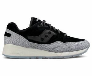 Saucony Originals Men's Dirty Snow Pack II Shadow 6000, Grey/Black