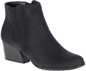 BRAND NEW - Super cute Black Suede Booties size 6.5