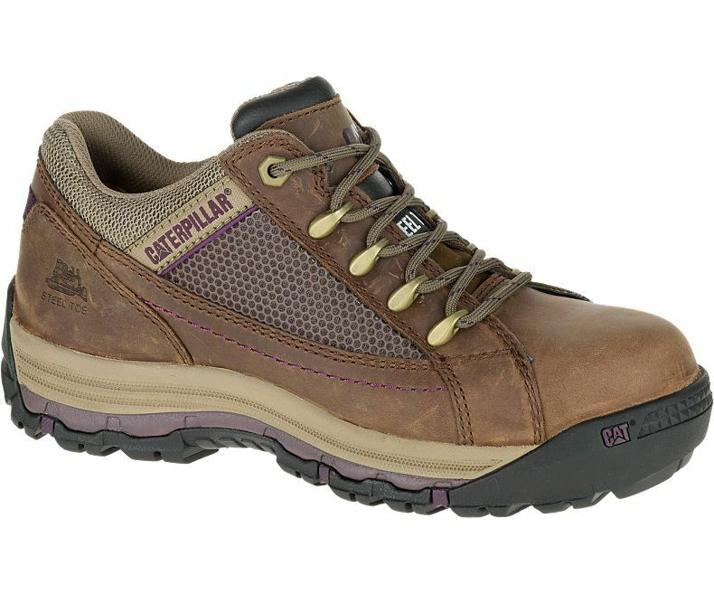 Womens Caterpillar Champ Steel Toe Work Shoe