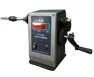 Electronic Digital Display Manual Hand Coil Winding Machine Winder 220v O