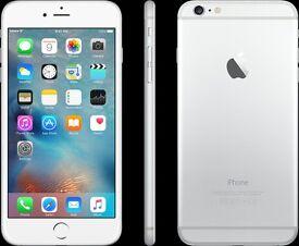 iPhone 6 Plus for sale, White/Silver, 16GB, 5.5 inch Retina HD