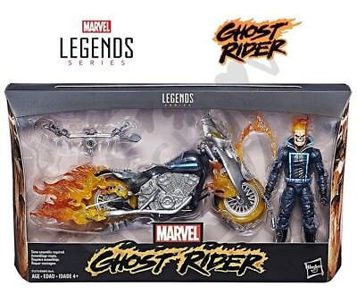 GHOST RIDER Marvel Legends HELL CYCLE Flame Motorcycle (2017) NEW Ultimate