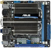 ASUS E45M1-I Deluxe Mini ITX Motherboard+CPU MINT Condition