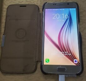 SAMSUNG S6 32gb UNLOCKED GOOD CONDITION few issues