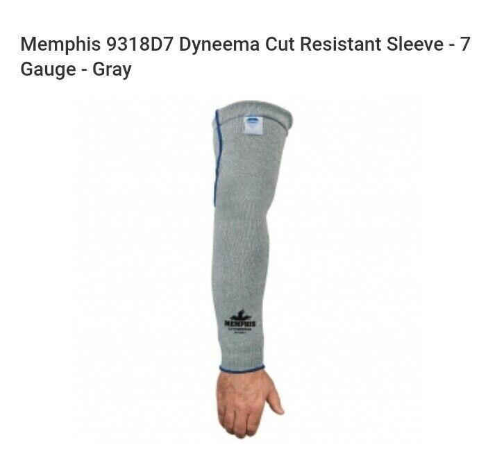 Kevlar arm sleeves, cut Resistant Memphis Dyneema (1 pair) made with kevlar.