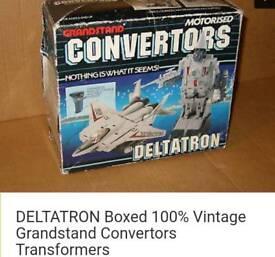 Vintage DELTATRON convertor transformer