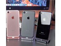 IPHONE 7 ROSE GOLD/ VISIT MY SHOP./ UNLOCKED / 128 GB / SHOP WARRANTY + RCEIPT