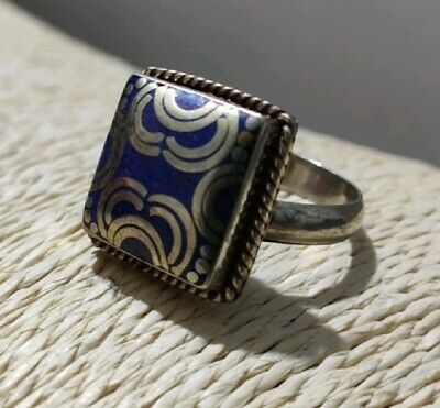BEAUTIFUL WOMENS CHUNKY RING, Gypsy Boho Ethnic Asian Tribal near Eastern ring