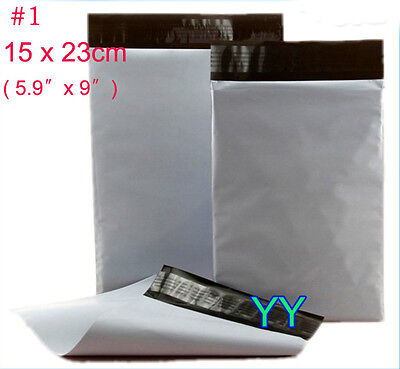 0 1 Thick Small Self Sealing Mailer Plastic Postage Mailing Packing Bags Pouch