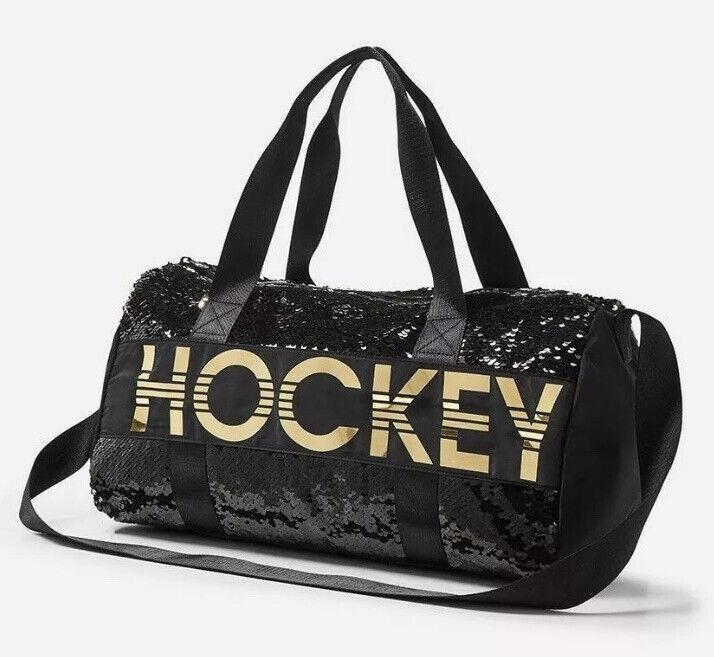 NWT Justice Girl Hockey Flip Sequin Duffle Bag Tote Bag