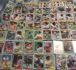 79 1981 Football Cards - Lots of Great Players