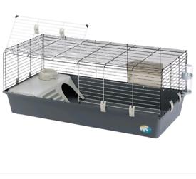 Ferplast Large 120cm Grey Rabbit Small Animal Cage