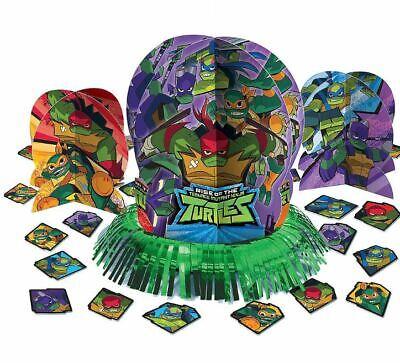 Ninja Turtle Table Decorations (Teenage Mutant Ninja Turtles Table Decorating Kit Party Supplies Center Piece)