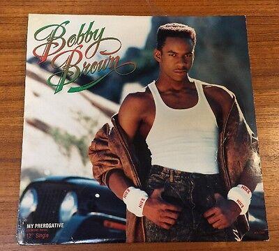 "Bobby Brown - My Prerogative LP 12"" Record Original"