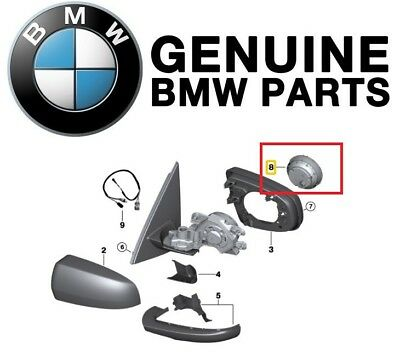 For BMW E70 X5 Left or Right Drive Motor Outside View Mirror Genuine 67137187261