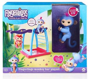 Fingerlings avec jouet balancoire