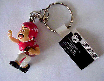 "Arkansas Razorbacks Football ""Sports Tyke"" Officially Licensed Mascot keychain"