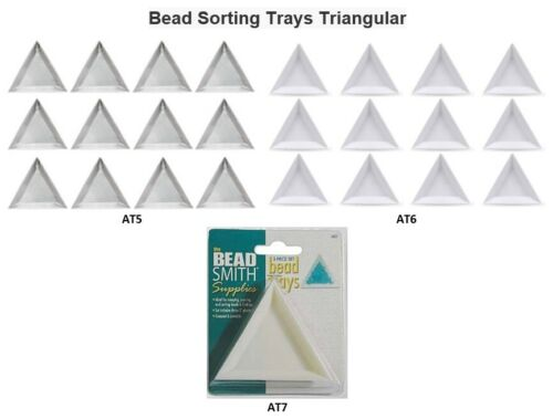 Bead Sorting Trays Triangular BEADSMITH