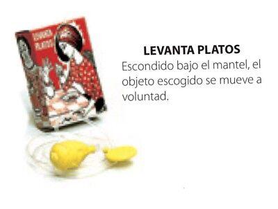ARTÍCULO DE BROMA LEVANTA PLATOS CARNAVAL HALLOWEEN, NUEVO. 49