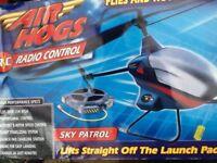 Radio control AIR HOGS chopper