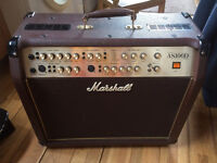as100d marshall acoustic Amp