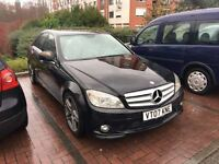 2007 MERCEDES C220 CDI AMG PADDLE SHIFT LHD LEFT HAND DRIVE