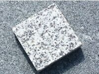 Granit silver grey edging cobbles