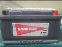 Hankook 100 amp car / van battery