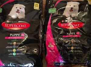 2 Full bags of Supercoat Puppy dog food 18kg alltogether Greenwood Joondalup Area Preview