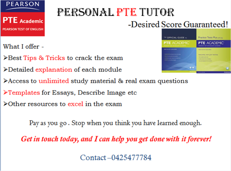 Personal PTE Tutoring (One on one) | Language Learning