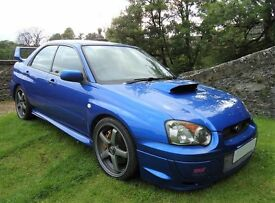 SUBARU IMPREZA, WRX STI, TYPE UK, 2003, ONLY 47000 MILES, JUST COMPLETED MAJOR SERVICE INC. CAM BELT