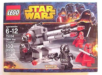 New Lego Star Wars DEATH STAR TROOPERS 75034 Factory Sealed 2014 C-10 Mint MIMB