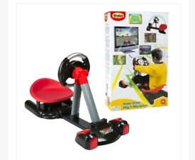 Video game drive simulation toy